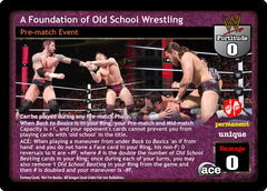 A Foundation of Old School Wrestling