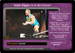 <i>Revolution</i> Dolph Ziggler is In My Corner!