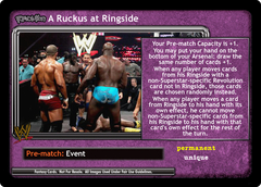 <i>Revolution</i> A Ruckus at Ringside