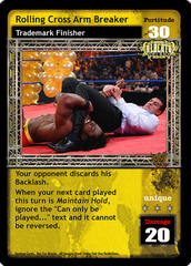 Rolling Cross Arm Breaker