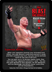 The Beast Incarnate Superstar Card