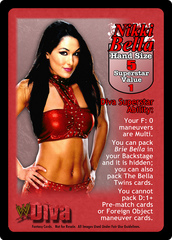 Nikki Bella Superstar Card