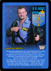 Big Boss Man Superstar Card