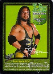 X-Pac Superstar Card