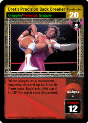 Bret's Precision Back Breaker