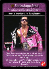 Bret's Trademark Sunglasses