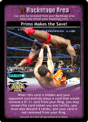 Primo Makes the Save!