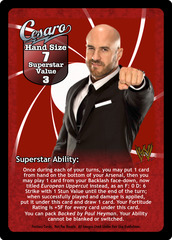 Cesaro Superstar Card - VSS (1)