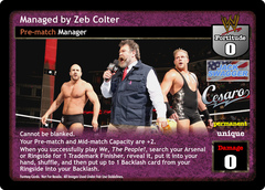 Managed by Zeb Colter