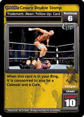 <i>Revolution</i> Cesaro Double Stomp