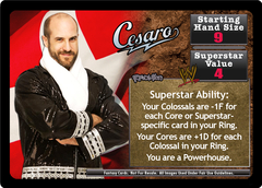 <i>Revolution</i> Cesaro Superstar Card