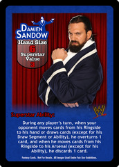 Damien Sandow Superstar Card