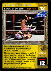 Sandow's Cubito Aequet Elbow of Disdain