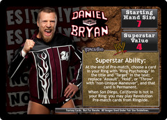 <i>Revolution</i> Daniel Bryan Superstar Card