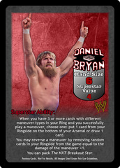 Daniel Bryan Superstar Card - VSS