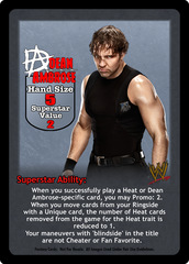 Dean Ambrose Superstar Card