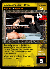 Ambrose's Elbow Drop