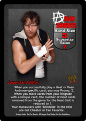 Dean Ambrose Superstar Card - VSS