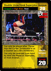 Double Underhook Superplex