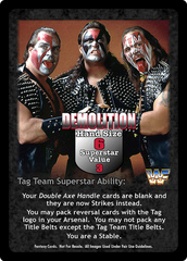 Demolition Superstar Card
