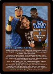 The Dudley Family Superstar Card