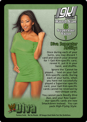 Gail Kim Superstar Card