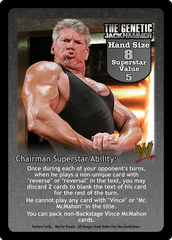 The Genetic Jackhammer Superstar Card