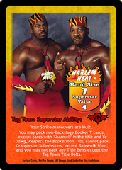 Harlem Heat Superstar Card