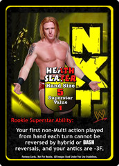 Heath Slater Superstar Card