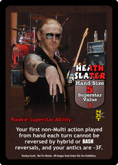 Heath Slater Superstar Card - VSS
