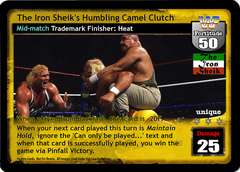 The Iron Sheik's Humbling Camel Clutch