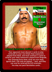 The Iron Sheik Superstar Card