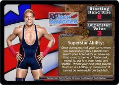 <i>Revolution</i> Jack Swagger Superstar Card