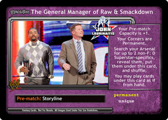 <i>Revolution</i> The General Manger of Raw & Smackdown