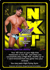 Justin Gabriel Superstar Card