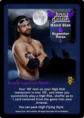 Justin Gabriel Superstar Card - VSS