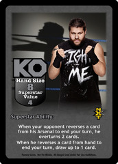 Kevin Owens Superstar Card