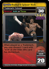 <i>Revolution</i> Booker's Scissor Kick
