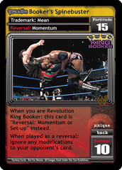 <i>Revolution</i> Booker's Spinebuster