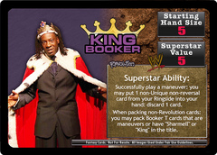<i>Revolution</i> King Booker Superstar Card