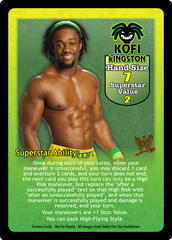 Kofi Kingston Superstar Card