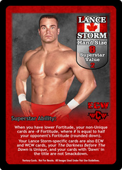 Lance Storm Superstar Card