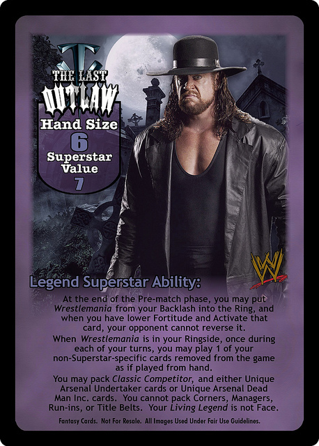 The Last Outlaw Superstar Card