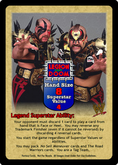 Legion of Doom Superstar Card