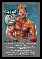 Lex Luger Superstar Card