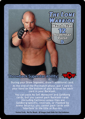 The Lone Warrior Superstar Card (TB)