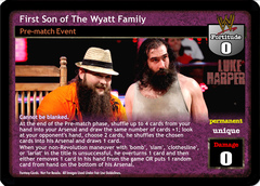 First Son of The Wyatt Family