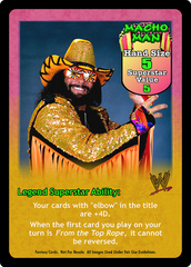Macho Man Randy Savage Superstar Card