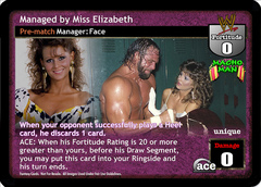Managed by Miss Elizabeth