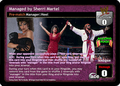 Managed by Sherri Martel